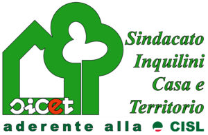 Logo Sicet Roma - Sindacato Inquilini Casa e Territorio